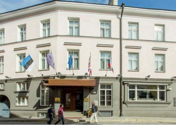 Rataskaevu Str 7, 10123 Tallinn, Hotel St. Petersbourg****