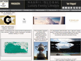 Naanii Global Quality/Luxury Family Lifestyle -Magazin 'en Vogue'- Crypto AAAG (nAAAGlobal) accepted for all Consultancy + Marketing Services + Boutique Online (Gifts/Events/Experiences/fotoARTs) Händler, Gutschein