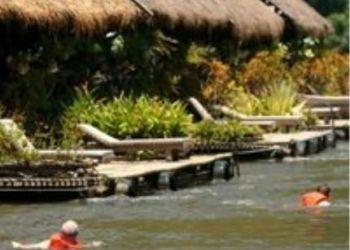 Baan Tahsao, Amphur Saiyoke, 70150 Kanchanaburi, Hotel River Kwai Jungle Rafts Resort***