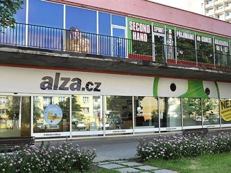 Alza Most Bitcoin ATM, Shop
