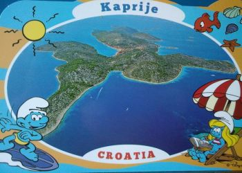 Kaprije, island Kaprije,Region Sibenik,Pension-Apartments-Rooms,Accomodation 12 Eur pers,private beach is near 50 m,free boat mooring,Excursions