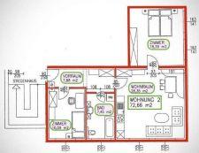 9470 St. Paul im Lavanttal, 3 Zimmer Wohnung mieten - ID4