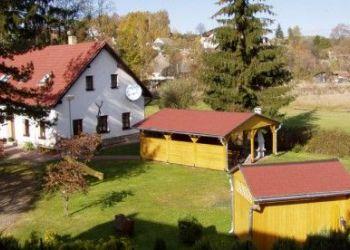 Dolní Dvořiště, Penzion a chalupa Schwarz v Novohradských horách.