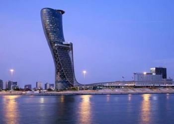 Hotel Ar Rīḩān, Opposite Abu Dhabi National Exhibition, Hyatt Capital Gate Abu Dhabi