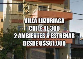 Appartamento 1 camera Villa Luzuriaga, Chile al 300 Entre Garibaldi y Cervantes, Appartamento 1 camera in vendita