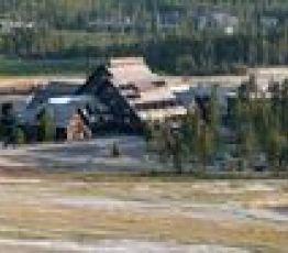 Loop Road , Yellowstone Yellowstone National Park, Hotel Old Faithful Inn***