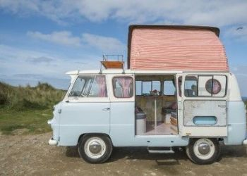 Camping Hayle, The Old Press, St Ives Bay Campers Campervan hire Cornwall
