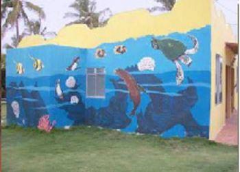 Avenida Antones Gil y Pinguinos, Puerto Villamil, Hotel Coral Blanco
