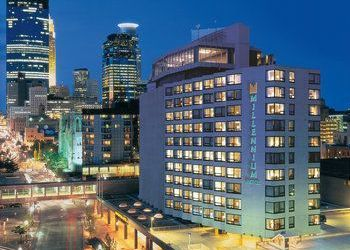 Hotel Minnesota, 1313 Nicollet Mall, Millennium Hotel Minneapolis