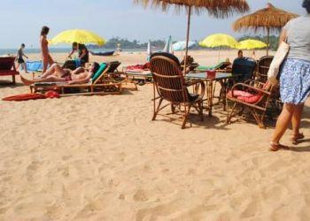 Hotel Calangute, On the beach,Near paradise Village beach Resort, Tivai Beach Cottages
