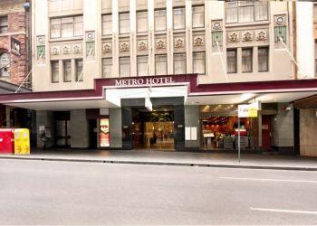 Hotel Sydney, 300 Pitt Street, Hotel Metro On Pitt***
