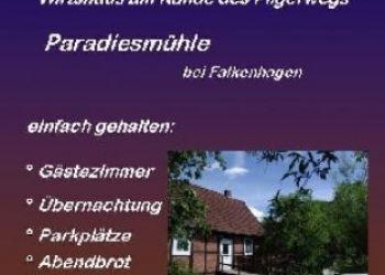 Paradiesmühle 1, 32676 Lügde, Paradiesmühle Rischenau