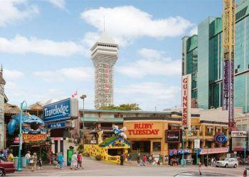 Hotel Niagara Falls, 4943 Clifton Hill, Hotel Travelodge Clifton Hill**