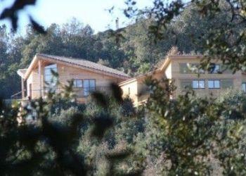 Ferienhaus Villarzel du Razès, 7 les Crémades Hautes, GÎTE ECOLOGIQUE EN BOIS