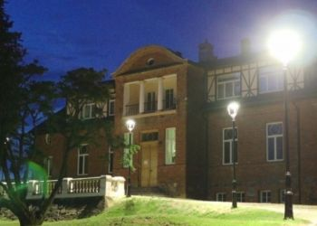 Sieksāte, Rudbāržu pag., Skrundas nov., Jaunsieksāte, Berghof Manor  Dairy museum