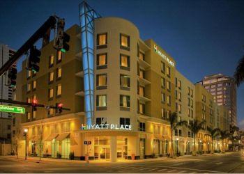 Hotel West Palm Beach, 295 Lakeview Avenue, Hotel Hyatt Place West Palm Beach