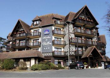12 Rue Sylvestre Lasserre, 14360 Trouville-sur-Mer, Hotel Best Western Hostellerie du Vallon***