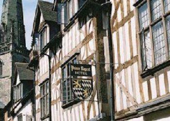Hotel Shrewsbury, Butcher Row, Hotel Prince Rupert***