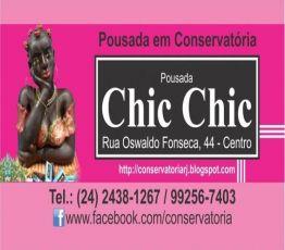 RUA OSWALDO FONSECA, 44, 27655-000 CONSERVATÓRIA  (distrito de VALENÇA) / RJ, POUSADA SEVERINA CHIC CHIC DE CONSERVATÓRIA